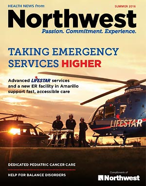 Health News Summer 2016 Cover - Northwest Texas Healthcare System