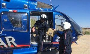El helicóptero LIFESTAR de Northwest Texas Healthcare System ahora provisto de sangre y plasma