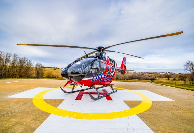 New Airbus Helicopter H135 P3 aircraft with the very latest technology