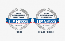 U.S. News & World Report Ranks Northwest Texas Healthcare as High Performing Hospital