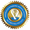 Centro Acreditado de Cuidado de Heridas y Oxigenoterapia Hiperbárica (Undersea Hyperbaric Medical Society)