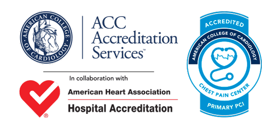 Chest Pain Center Accreditations