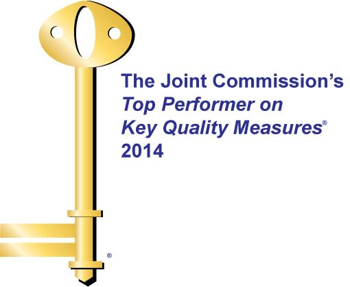 Top Performer on Key Quality Measures®  by The Joint Commission