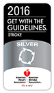 Premio The Guidelines - Stroke Silver Quality Achievement Award
